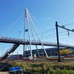 Voortgang bouw liften en hellingbanen station haarlem-Spaarnwoude
