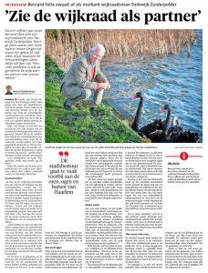 Bernard Felix Haarlems Dagblad digikrant