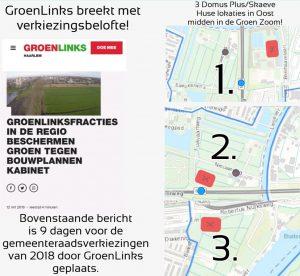 GroenLinks gemeenteraadsverkiezingen 2018