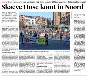 Skaeve Huse komt in Noord