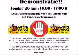 Demonstratie 20-06-2021